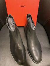 Hugo Boss Chelsea Boots, Stiefel, Schuhe, 44/10, schwarz, NEU