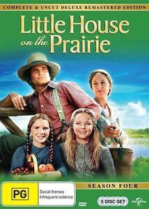 Little House On The Prairie : Season 4 (DVD, 2015, 5-Disc Set) New & Sealed - R4
