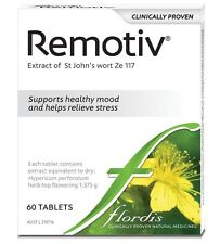 FLORDIS REMOTIV 60 TABS ANXIETY TENSION STRESS RELIEF OzHealthExperts