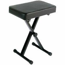 Yamaha PKBB1 Adjustable Padded Seat Keyboard Bench - Black