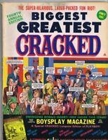 ORIGINAL Vintage 1968 4th Annual Biggest Greatest Cracked Magazine