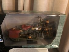 US ARMY ROADRIDER COLLECTION INDIAN MOTORCYCLE 1:6 SCALE VERY RARE!