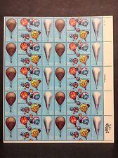 #2032-35 Balloons  Full Sheet of 40  MNH OG