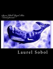 Nature Sea Animals Lined Journals ~Soli Deo Gloria: Sperm Whale Royal Blue.