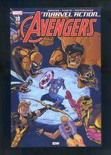 Marvel Action: Avengers #9 & #10 1st Cameo & Full Appearance of Yellow Hulk
