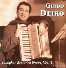 Guido Deiro: Complete Recorded Works, Vol. 3 (CD, Dec-2010, Archeophone)