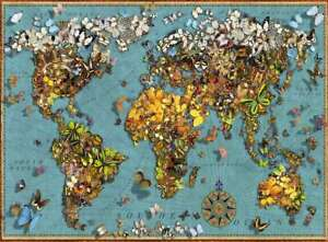 Ravensburger World of Butterflies Jigsaw Puzzle 500pc