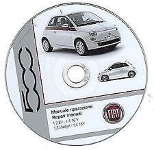 Fiat Nuova 500 (My 2007-->) manuale officina - repair manual