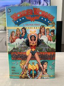 WONDER WOMAN BY GEORGE PEREZ OMNIBUS HC VOLUME 1 Rare OOP
