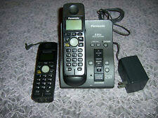 Panasonic Cordless Telephone  KX-TG6051B w/2 headset KX-TGA600B & Batteries