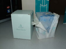 """Partylite OCEAN MIST Big Square 3""""x4"""" Pillar Candle, NOS, Brand new in Box!"""