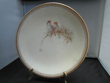 ANTIQUE ROYAL WORCESTER PAINTED PLATE