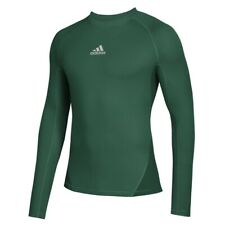 [12EEA25] adidas AlphaSkin Long Sleeve Warm Top - Men's Training NEW