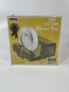 Vintage Montgomery Ward Sears 100 2X2 Slide Round Tray Sealed Album Pack