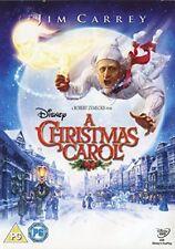 DELLA DISNEY A Christmas Carol - Jim Carey (Dvd)