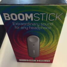 BoomStick Portable Headphone Audio Enhancer Amplifier Bass Boost Clear Sound