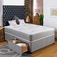 Fabric Medium Pocket Sprung Beds Mattresses