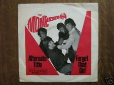 THE MONKEES 45 TOURS GERMANY ALTERNATE TITLE