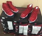 "Nike Air Jordan Retro 11 XI ""Win Like 96"" Gym Red 378037-623 AUTHENTIC Size 4~15"