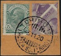Regno - 1908 - cent.50 Michetti - Rara varietà - Firmata Fiecchi e Carraro