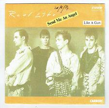 "REAL LIFE Vinyle 45 tours SP 7"" SEND ME AN ANGEL-LIKE A GUN - CARRERE 13499 RARE"
