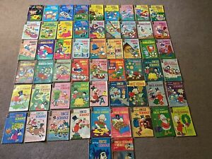 Vintage Gold Key Comic Book Lot-1960's-70's-Uncle Scrooge-Donald Duck-Huey-Duey