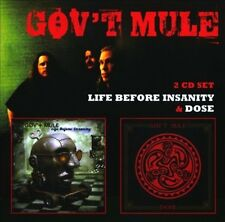 GOV'T MULE - LIFE BEFORE INSANITY/DOSE NEW CD