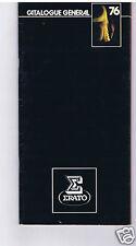 CATALOGUE GENERAL ERATO DISQUES MUSIQUE CLASSIQUE 1976