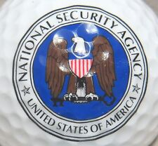 (1) National Security Agency - United States Of America Logo Golf Ball