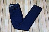 J Brand Pencil Skinny Leg Jeans Womens Size 28 Dark Wash Ink Style 3912CO12