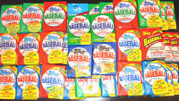 Lot of 25 Unopened Assorted sealed Packs of Baseball Cards from 1986-2009