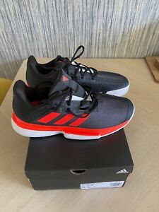 Brand New mens adidas solematch bounce tennis shoes Size UK 8 1/2