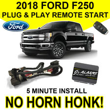 2018 Ford F-250 Remote Start Plug & Play No Horn Honk F250 Super Duty FO2N