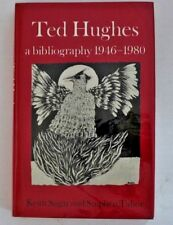 Ted Hughes A Bibliography 1946-1980 First Edition in D/J 1983