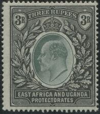 East Africa & Uganda: 1903-04 (SG.11) Crown CC wmk Edward VII 3R Grey-green &..