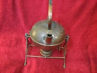 Arts And Crafts Copper Spirit Kettle In The Manner Of Christopher Dresser c