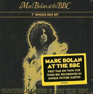 """T.REX MARC BOLAN AT THE BBC 4 X 7"""" SINGLES SEALED BOXED SET. SEE PICS BELOW"""