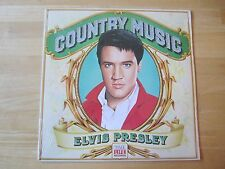 Sealed Elvis Presley LP, Country Music, Time-Life, 1981