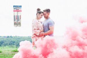 Pink Gender Reveal Smoke
