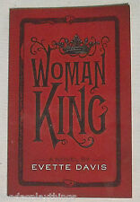WOMAN KING Evette Davis Book Paperback SIGNED Autographed Dark Horse