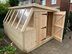 Ecco H/Duty Potting Shed / Storage Shed 10ft x 9ft