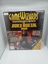 New Sealed Game Wizard Interactive Game Guide Duke Nukem 3D 1996 big box pc
