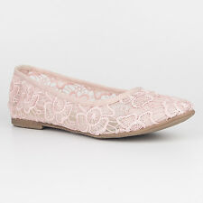 Tamaris Trend Women's UK 6.5 Rose Embroidered Mesh Ballerina Low Heel New Shoes