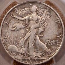 1918-D Walking Liberty half dollar, PCGS XF40, crusty nice    DavidKahnRareCoins