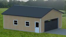 Double Garage Plans 001