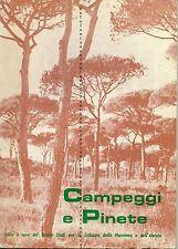 A.Ottolini -Campeggi e pinete -Maremma,Amiata,Giglio 1971