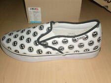 circa skateboard shoes al50 slips slip on white happy ,--- new size 12