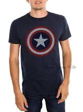 New Marvel Universe Captain America Shield T-Shirt Tee Adult Top Mens XXL