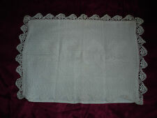 #166 Beautiful Vintage Handmade Pillowcase