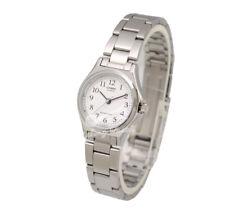 -Casio LTP1130A-7B Ladies' Metal Fashion Watch Brand New & 100% Authentic